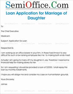 application for loan from company semiofficecom With loan application letter to company