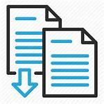 Merge Icon Export Documents Combine Editor Open