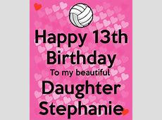 Birthday Stephanie Happy Daughter 0