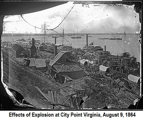 point p siege 150 years ago today explosion at city point august 9
