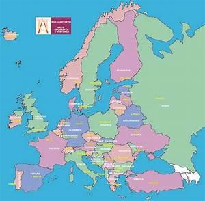 bArRaQuItA c F : Explicación de mapas de España y Europa