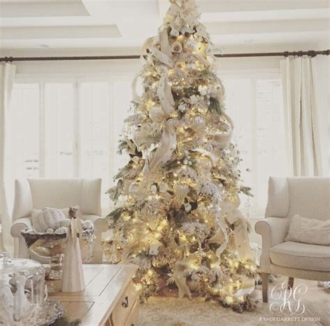 white decorations for christmas tree elegant white christmas family room details mercury glass flocked christmas trees and