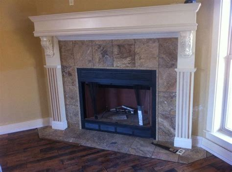 tumbled fireplace surround fireplaces