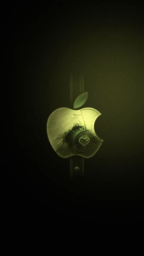 apple logo hd wallpaper  iphone pixelstalknet