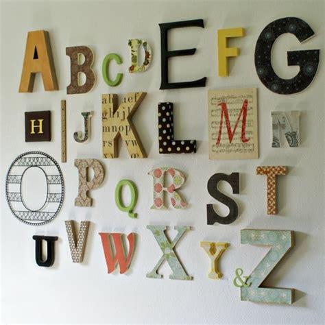 lettre decorative cuisine arrangement de lettre décorative murale archzine fr