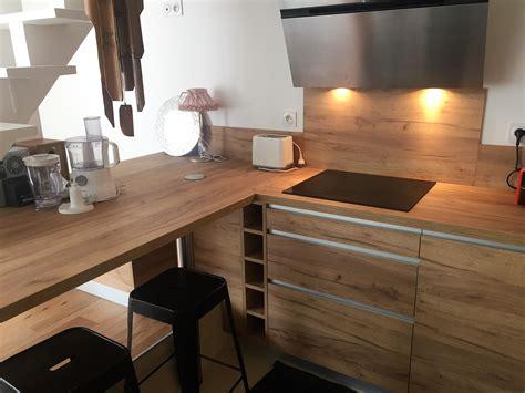 renovation cuisine bois cuisine ésprit chalet déco cuisine