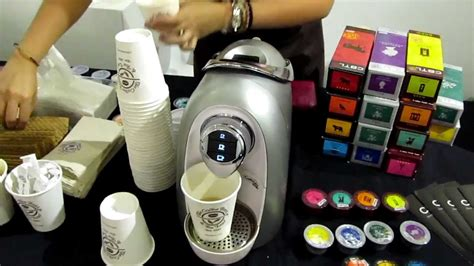 Coffee Bean Demonstrate Their Single Serve, Capsule Based Coffee & Tea Maker   YouTube