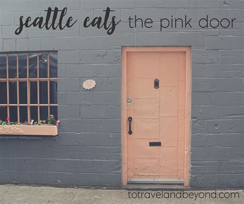 the pink door seattle where to eat in seattle the pink door to travel beyond