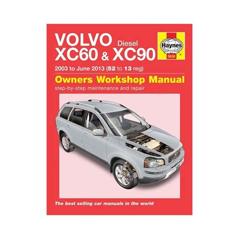 genuine haynes owners workshop manual volvo xc xc