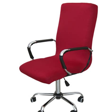 Office Chairs Covers by Spandex Office Chair Cover Elastic Computer Chair Cover