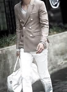White Pants Style Men