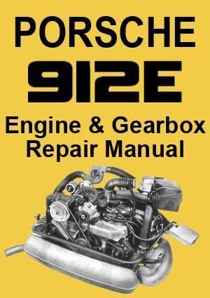 Does anyone know exactly which years and models did porsche release a 6 speed manual transmission gearbox for in the us? PORSCHE 912 E (USA Model) Mechanical Workshop Manual ...