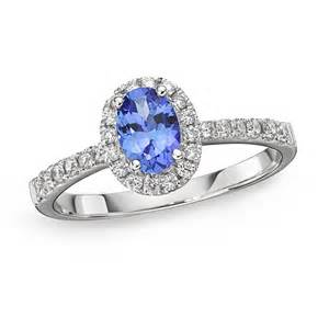 and blue sapphire engagement rings petit tanzanite oval halo ring richland gemstones