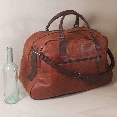 cabin friendly luggage the cabin friendly grip bag handmade leather henry tomkins