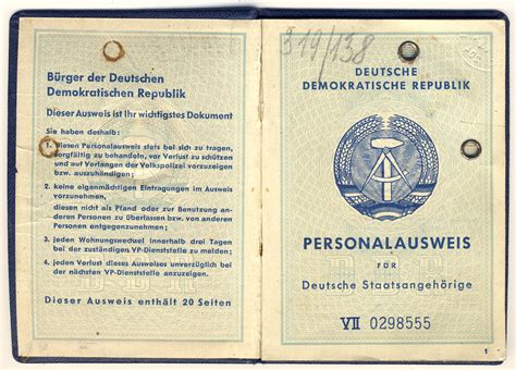 personalausweis ddr