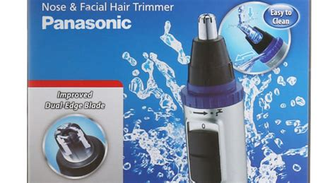 review  panasonic er gn  nose ear hair trimmer  electric
