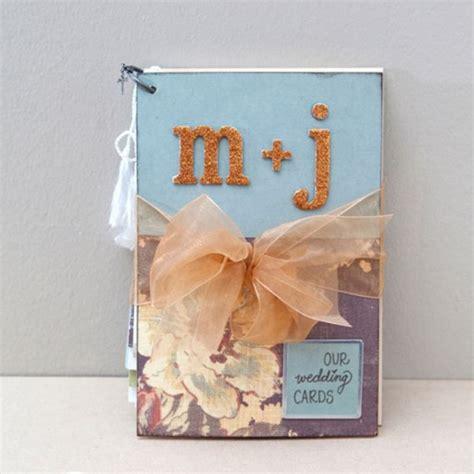 how to make romantic mini album wedding card step by step