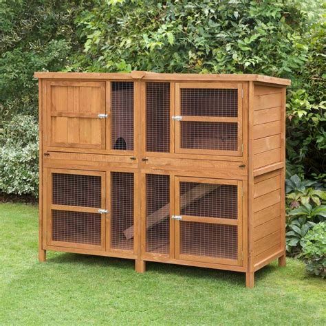 rabbit guinea pig hutch 5ft chartwell rabbit guinea hutch and run made in