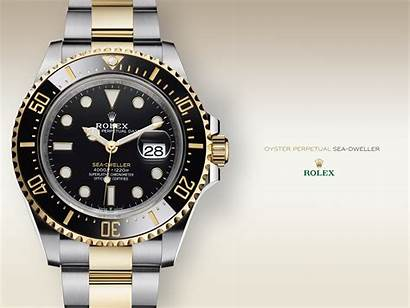 Rolex Wallpapers Background Clock Watches Dweller Sea