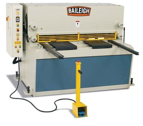 sheet metal shear hydraulic heavy duty sh 5203 hd baileigh industrial