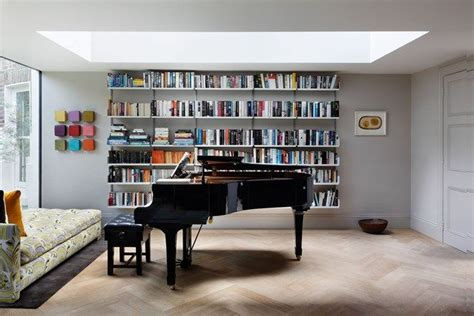 Living Room Bookshelves Modern by Modern Bookcase Grey Walls Design Decor Modern