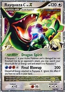 Pokemon Card of the Day: Rayquaza C Lv. X (Supreme Victors ...