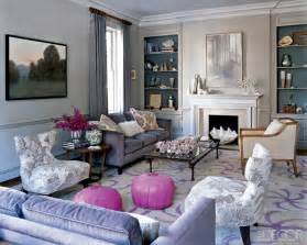 gray purple living room design for 2012 new home scenery