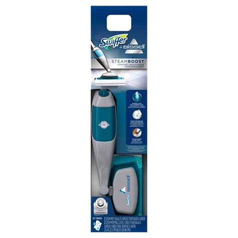 swiffer steam boost for laminate floors swiffer bissell steam boost steam mop starter kit