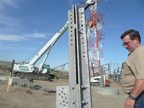 building   transmission tower department  energy