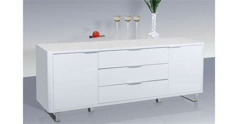 High Gloss White Sideboard by Accent White High Gloss Sideboard