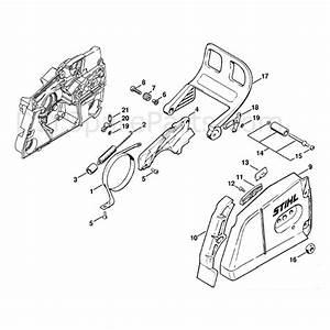 Stihl Ms 880 Chainsaw  Ms880  Parts Diagram  Chain Brake