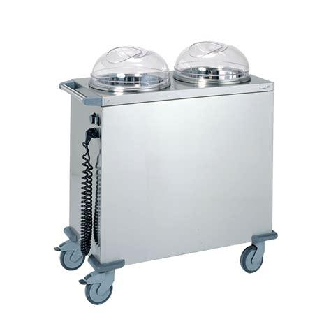 chariot chauffant cuisine 3 chariots à niveau constant à assiettes tournus