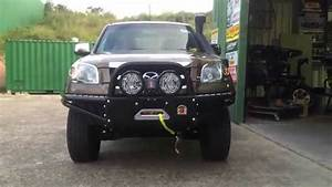 Mazda Bt50 Fitted With Custom Bull Bar