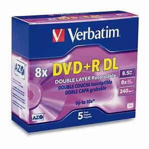Double Layer Dvd : double layer dvd r dl 8 5gb 8x 5pk slim case verbatim ~ Kayakingforconservation.com Haus und Dekorationen