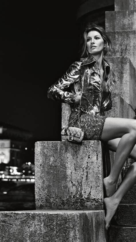 wallpaper gisele bundchen fashion model chanel