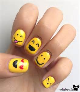 Cute smiley faces nail art designs you will fall in