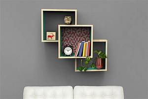 Wall-mounted Display Shelves