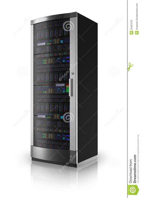network server rack stock illustration illustration