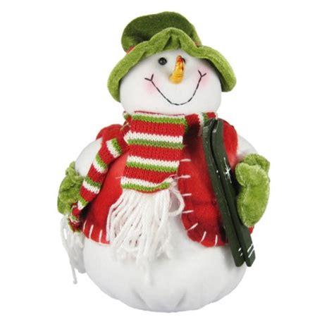 stuffed snowman decorations snowman stuffed bean bag christmas decoration home d 233 cor handmade fleece plush weighted base