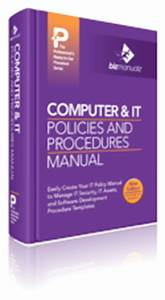 Computer Use Policy Template Company Policies And Procedures Manual Bizmanualz SOP