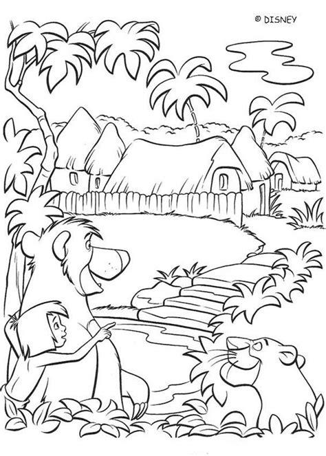 human village coloring pages hellokidscom