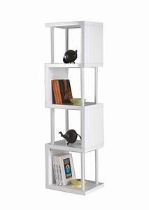 Meuble Séparation Conforama : gallery of bibliothque laqu blanc with meuble de sparation conforama ~ Melissatoandfro.com Idées de Décoration