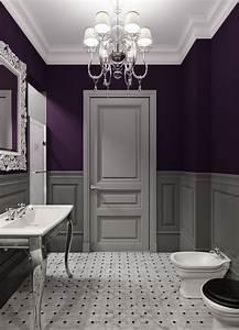 39 kick ass bathroom decor ideas someday i39ll learn With deep purple bathroom