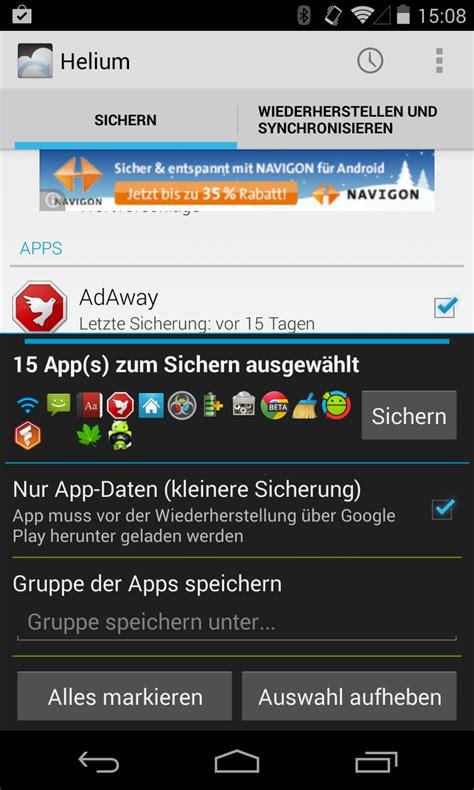 Play Wiederherstellen by Anleitung Android Backup Apps Und Daten Ohne Root