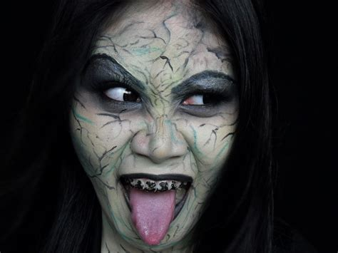crazy evil witch makeup hansel  gretel inspired