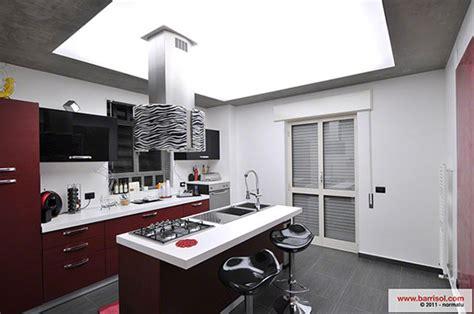 led cuisine barrisol lumière le plafond tendu lumineux