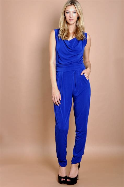 blue jumpsuits blue jumpsuit dressed up
