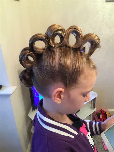 rolling mohawk  crazy hair day hair crazy hair days