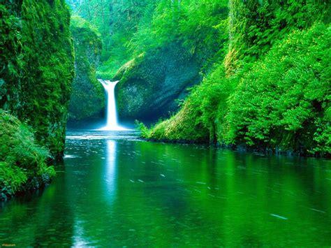 kumpulan gambar air terjun tercantik  dunia wallpaper pemandangan alam indah animasi