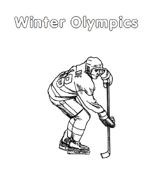 Kleurplaat Ijshockey by Kleurplaten En Zo 187 Kleurplaten Schaatsen
